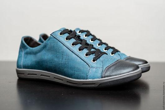 Обувь ручной работы. Ярмарка Мастеров - ручная работа. Купить Кеды Тренд. Handmade. Комбинированный, Кеды из кожи питона