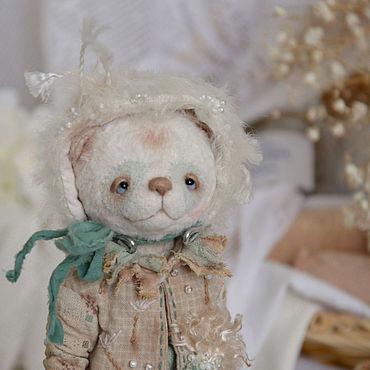 Куклы и игрушки ручной работы. Ярмарка Мастеров - ручная работа Панда тедди примитив Ванечка Одуванчиков. Handmade.