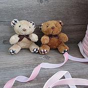 Материалы для творчества ручной работы. Ярмарка Мастеров - ручная работа Игрушка для куклы. Игрушка мишка - 8 см.. Handmade.