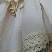 Одежда handmade. Livemaster - original item Simple podobnik, color of melted milk,in the style boho.. Handmade.