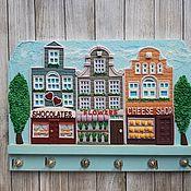 Для дома и интерьера handmade. Livemaster - original item The Housekeeper Amsterdam 7. The housekeeper wall.. Handmade.