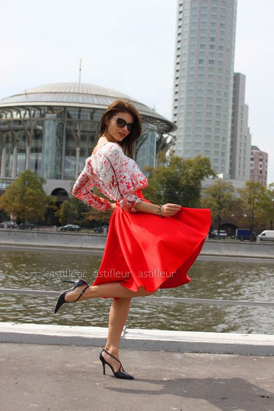 9cab06aa1c9 Юбки ручной работы. Ярмарка Мастеров - ручная работа. Купить Красная юбка  солнце.