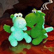 Куклы и игрушки ручной работы. Ярмарка Мастеров - ручная работа Маленькие дракончики. Handmade.