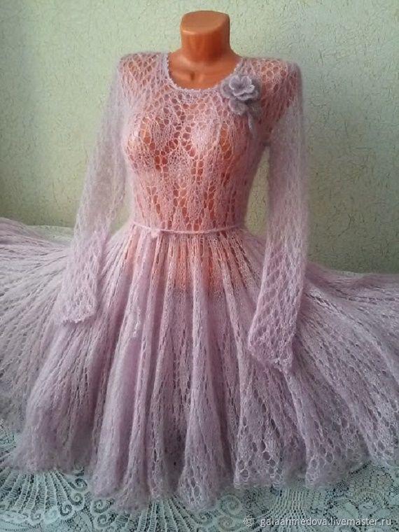 mohair dress,handmade dress, elegant dress, beautiful dress, wedding dress, Quinceanera dress, a dress made of mohair,lace dress,dress with needles,buy, dress fishnet,handmade,evening