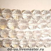 Бусины ручной работы. Ярмарка Мастеров - ручная работа Горный хрусталь, бусина 6, 8, 10 мм. Handmade.