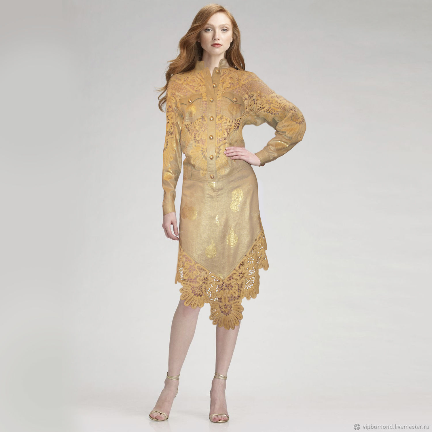 Costumes handmade. Livemaster - handmade. Buy Exclusive designer suit with luxurious vintage lace.Bat, women's costume