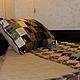 Текстиль, ковры ручной работы. Лоскутный набор. Лидия. Интернет-магазин Ярмарка Мастеров. Лоскутный плед, шёлк, синтетика