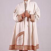 Одежда ручной работы. Ярмарка Мастеров - ручная работа Пальто-зипун в народном стиле. Handmade.