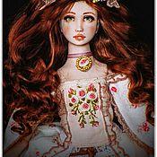 """Куклы и игрушки ручной работы. Ярмарка Мастеров - ручная работа Мелисса """"Старинные открытки"""". Handmade."""