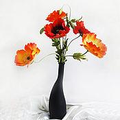 Цветы и флористика ручной работы. Ярмарка Мастеров - ручная работа Букет маков. Handmade.