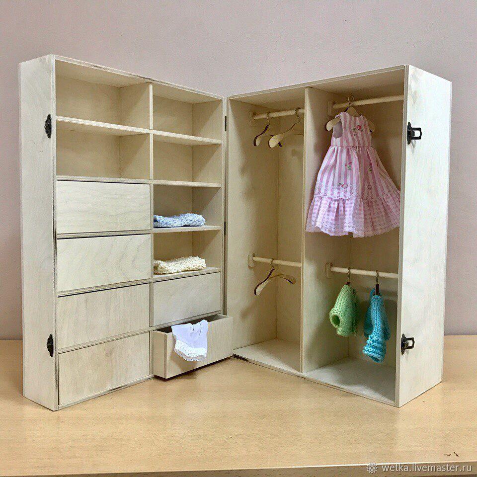 какие шкафы для кукол можно сделать фото почему