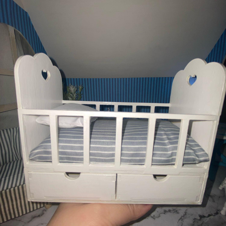 Кроватка, Мебель для кукол, Москва,  Фото №1