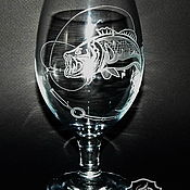 Посуда handmade. Livemaster - original item Perch. Beer glass.. Handmade.