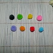 Материалы для творчества ручной работы. Ярмарка Мастеров - ручная работа Помпон декоративный 10 мм. Handmade.