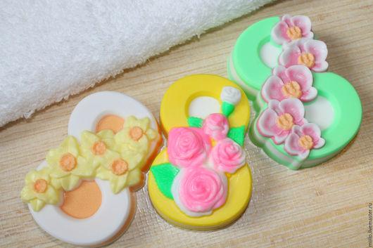 Мыло ручной работы. Ярмарка Мастеров - ручная работа. Купить 8 марта мыло. Handmade. Комбинированный, мыло для женщин
