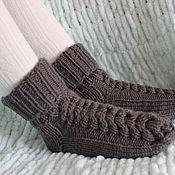 Аксессуары handmade. Livemaster - original item KNITTED SOCKS. Knitted baby socks. Handmade.