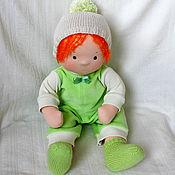 Куклы и игрушки ручной работы. Ярмарка Мастеров - ручная работа Непоседа, кукла по вальдорфским мотивам. Handmade.