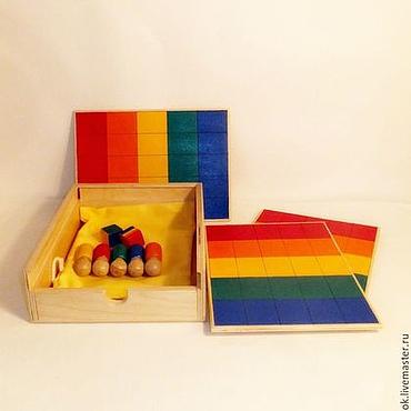 Куклы и игрушки ручной работы. Ярмарка Мастеров - ручная работа Настольная игра Шагоцвет. Handmade.