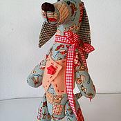 Подарки к праздникам ручной работы. Ярмарка Мастеров - ручная работа Собака такса игрушка Бронь для Ольги. Handmade.