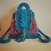 Рюкзаки ручной работы. Ярмарка Мастеров - ручная работа Рюкзак из трикотажной пряжи. Handmade.