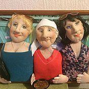 Куклы и игрушки ручной работы. Ярмарка Мастеров - ручная работа Куклы по фото Внучки и бабушка. Handmade.