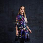 Одежда ручной работы. Ярмарка Мастеров - ручная работа Нарядное платье до колен. Handmade.