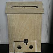 Материалы для творчества ручной работы. Ярмарка Мастеров - ручная работа Почтовый ящик (игровой, для декора). Handmade.