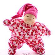Куклы и игрушки ручной работы. Ярмарка Мастеров - ручная работа Подарю тебе сердце - кукла комфортер для самых маленьких. Handmade.