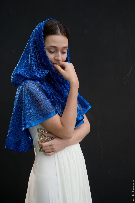 Вязание платок в храме