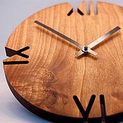 """Часы классические ручной работы. Ярмарка Мастеров - ручная работа Часы """"Модерн"""". Handmade."""