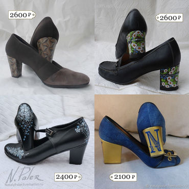 Обувь ручной работы. Ярмарка Мастеров - ручная работа Роспись по обуви. Реставрация каблуков. Handmade.