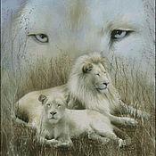 """Материалы для творчества ручной работы. Ярмарка Мастеров - ручная работа """"Дух белого льва"""". Handmade."""