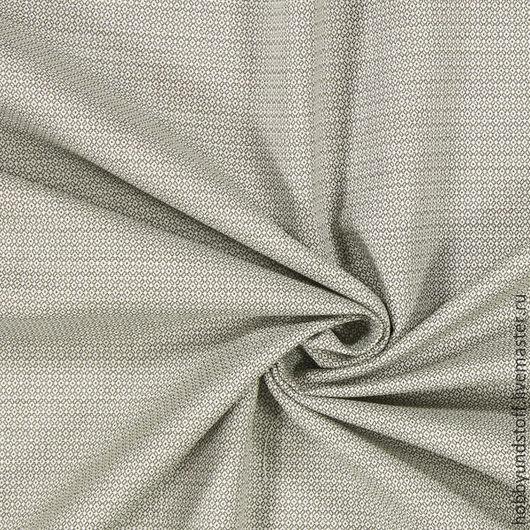 Шитье ручной работы. Ярмарка Мастеров - ручная работа. Купить Немецкая ткань Jaguard. Handmade. Серо-бежевый, ткань для творчества