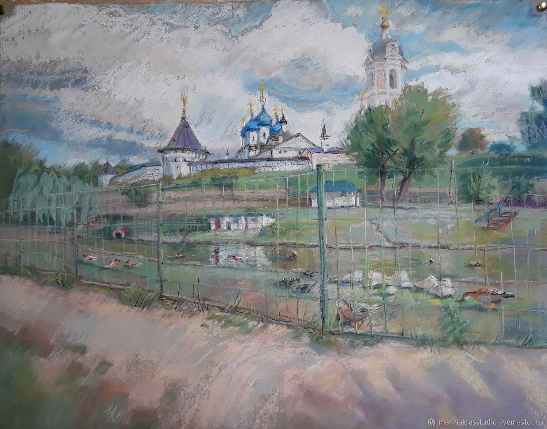 Высоцкий мужской монастырь, Картины, Москва,  Фото №1