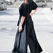 Одежда handmade. Livemaster - original item Summer casual jumpsuit Georgette - JP0339GE. Handmade.
