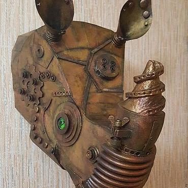 """Картины и панно ручной работы. Ярмарка Мастеров - ручная работа Арт-объект носорог """" Титан"""". Handmade."""