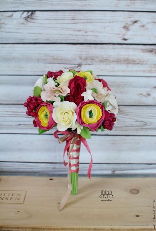Свадебные цветы ручной работы. Ярмарка Мастеров - ручная работа. Купить Букет для невесты. Handmade. Комбинированный, букет невесты, невеста