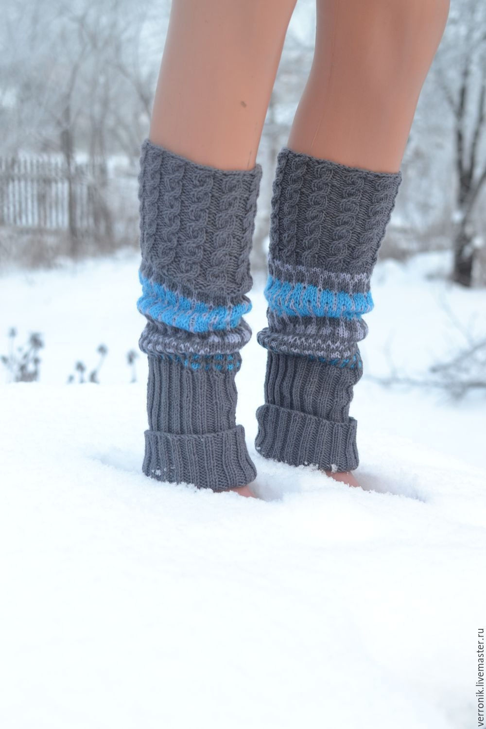 Leg warmers knitted \