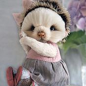 Куклы и игрушки ручной работы. Ярмарка Мастеров - ручная работа Тедди Ежик Адель. Handmade.