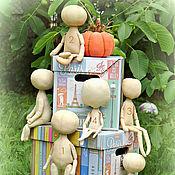Куклы и игрушки ручной работы. Ярмарка Мастеров - ручная работа Заготовочка тыквоголовки. Handmade.
