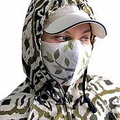 Аксессуары handmade. Livemaster - original item Protective mask made of cotton or linen reusable Tuareg. Handmade.