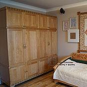Для дома и интерьера handmade. Livemaster - original item Cabinet carved-painted beech Large. Handmade.