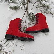 Обувь ручной работы. Ярмарка Мастеров - ручная работа Полусапожки женские. Handmade.