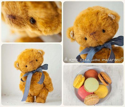 teddy bear, мишка тедди для детей, ,итальянская вискоза,  игрушка в подарок, мишки тедди от Анна Палто