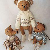 Куклы и игрушки ручной работы. Ярмарка Мастеров - ручная работа Мышиная семейка. Handmade.