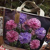 """Классическая сумка ручной работы. Ярмарка Мастеров - ручная работа Сумка """"Для любимой». Handmade."""