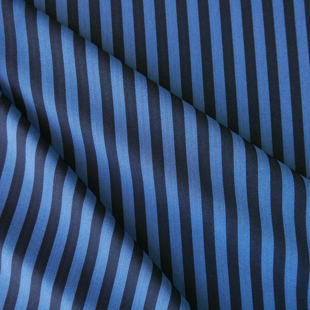 Ткань костюмная в полоску, Ткани, Москва,  Фото №1