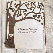 Свадебный салон ручной работы. Ярмарка Мастеров - ручная работа Папка для свидетельства из дерева. Handmade.