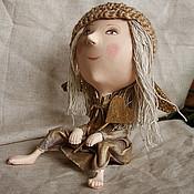Куклы и игрушки ручной работы. Ярмарка Мастеров - ручная работа авторская кукла Ангелок. Handmade.