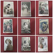 Винтаж handmade. Livemaster - original item Antique greeting cards and postcards. Handmade.